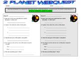 Space Planets Webquest