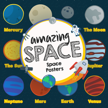 Space Theme Posters - Amazing Space
