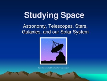 Space Exploration: Studying Space PowerPoint Presentation