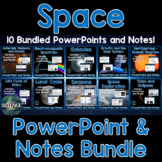 Space PowerPoint and Notes Bundle