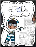 Space Preschool Printables