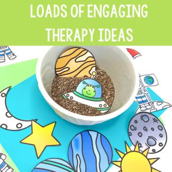 Space Preschool Language Unit #spedwarmsup3