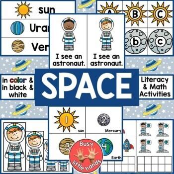 Space Theme for Preschool