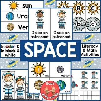 Space Theme for Preschool