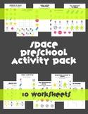 Space Preschool Summer Packet