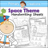 Space Preschool and PreK Literacy Activities