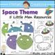 Space Preschool and PreK Literacy and Maths Activities