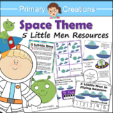 Space Preschool and PreK Literacy and Maths Activities