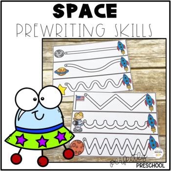 Space Prewriting Skills {Dollar Deal}