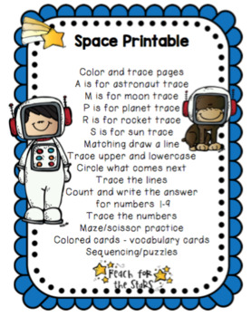 Space Printable