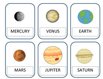 Space Printouts and Worksheets