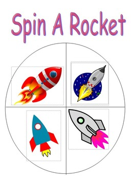 Space Probability and Graphing Spinners Kindergarten - Grade 3