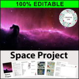 Space Research Project - 100% Editable