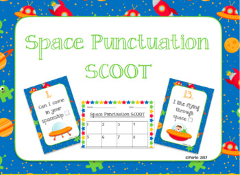 Space Punctuation Scoot