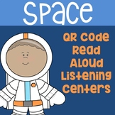 Space QR Code Read Aloud Listening Centers