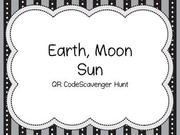 Space QR Code Scavenger Hunt