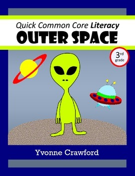Space No Prep Common Core Literacy (3rd grade)