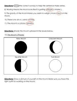 Astronomy/ Space: Earth's Moon Quiz