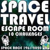 Space Race - 1961 - 2020 ESCAPE ROOM, 10 Challenges, Answe