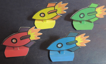 Space Race: A Space Game for Vocabulary and Content