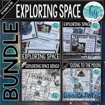 Space Race Activity Bundle
