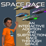 Space Race Board Game Addition And Subtraction