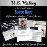 Space Race/Cold War   Mini-Document Based Activity   Dista