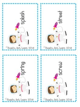 Space Race - Digraphs/Trigraphs - Reading Digraphs Game