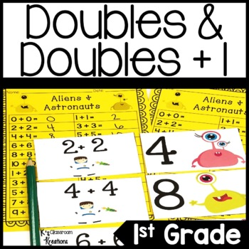 Doubles & Doubles + 1 Math Game