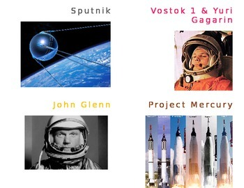 Space Race Flash Cards (Apollo Astronauts)