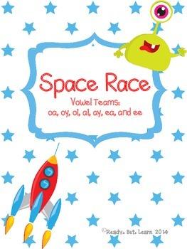 Space Race - Vowel Team Game