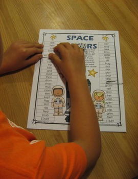 Blends and Digraphs Gameboards - Race to the Top