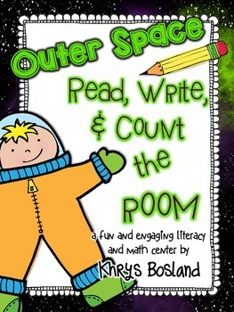 Space Read, Write, and Count the Room {Literacy and Math} {CCSS}