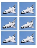 Space Readers Point Chart Shuttles