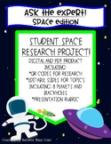 "Space Research Project! ""Ask The Expert- Space Edition!"""