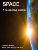 Space! Responsive Design 6 Pack .PDF - Design Thinking - IB MYP Rubric PLTW STEM