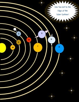 Space Game for Intermediate Students (A great way to review!)