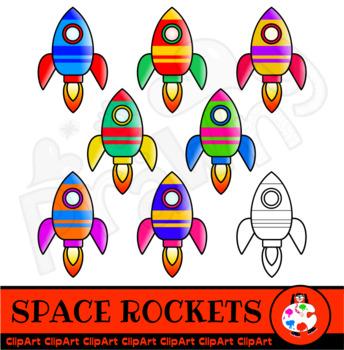 Space Rocket Clip Art