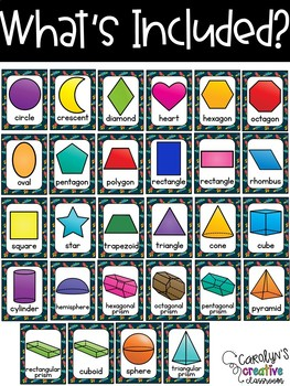 Space Rockets Shape Posters - Outer Space Classroom Decor