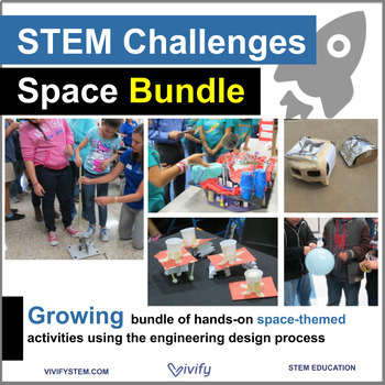 Space STEM Starter Challenges MEGA Bundle: Engineering Design