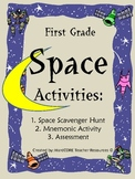 Space Scavenger Hunt + Extra Activities {SUN MOON STARS}
