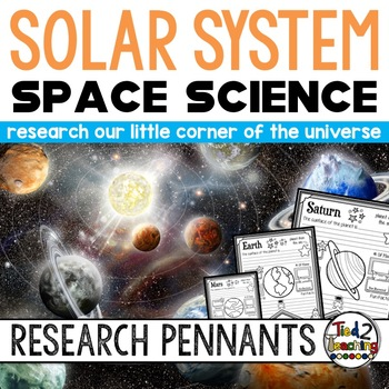 Space Science Activity: Solar System Research Pennants