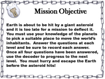 Space Science/ Astronomy Escape Room Bundle