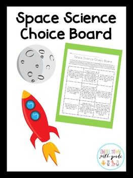 Space Science Choice Board