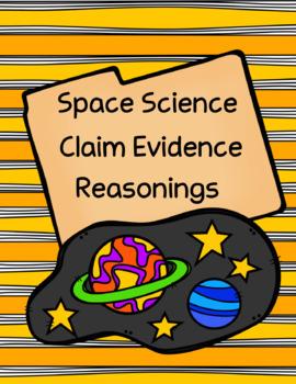 Space Science Claim Evidence Reasoning Bundle