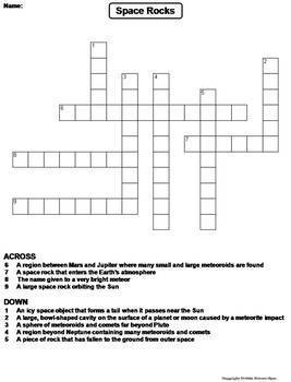 Space Science Crossword Puzzles Bundle: Eclipses, Planets, Solar System etc.