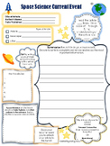 Current Event Worksheet - Space Science