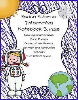 Space Science Interactive Notebook Bundle