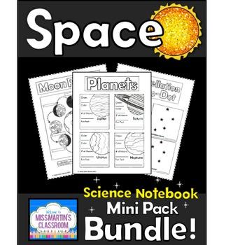 Space Interactive Notebook Bundle