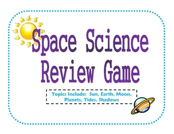 Space Science Review Game